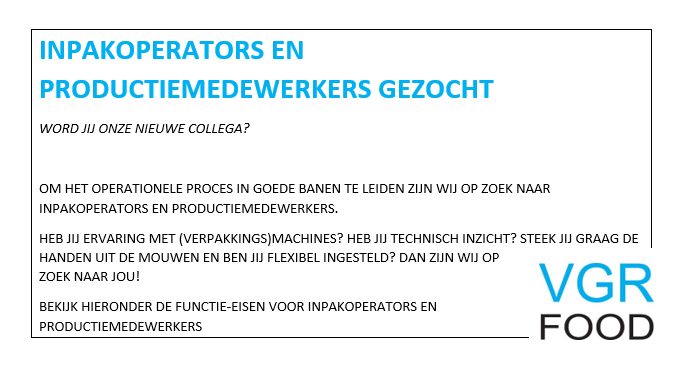 20180924 Vacature website